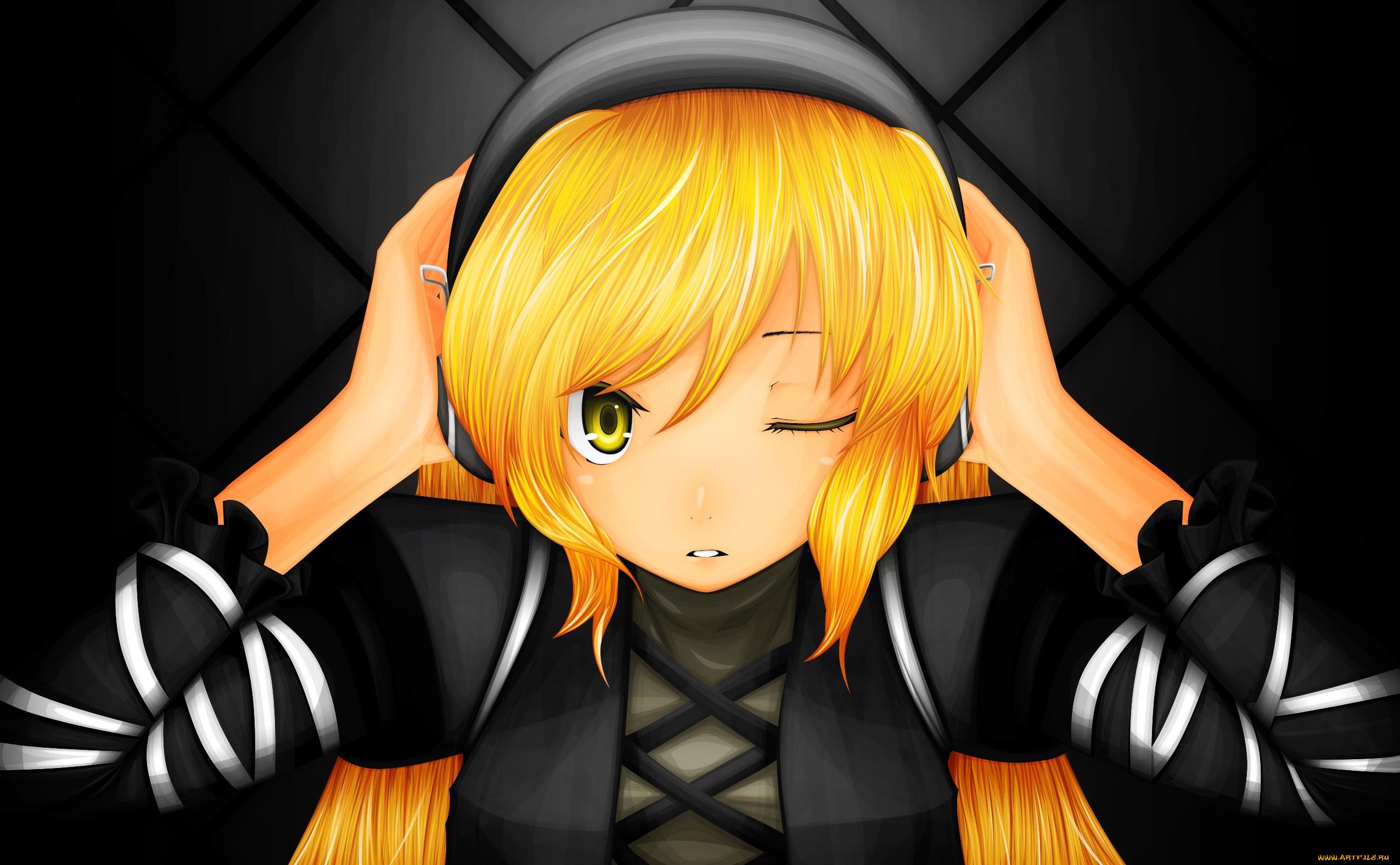 Сайт с девочкой с жёлтыми волосами